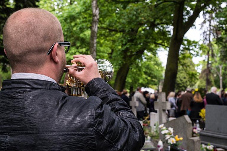 oprawa pogrzebu